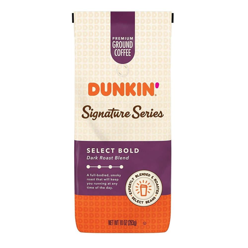dunkin signature series dark roast دانكن الفاخرة غامقة التحميص
