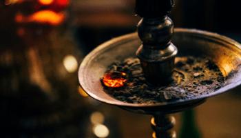 الشيشة التقليدية وملحقاتها