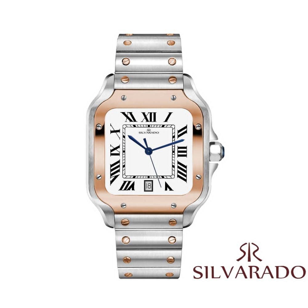 ساعة يد رجالية راقية بتصميم كلاسيك أنيق