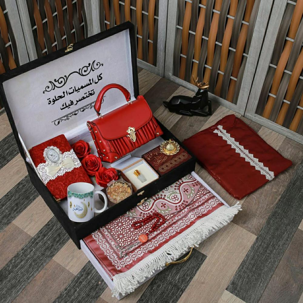 بوكس هدية نسائية رمضانية فخمة