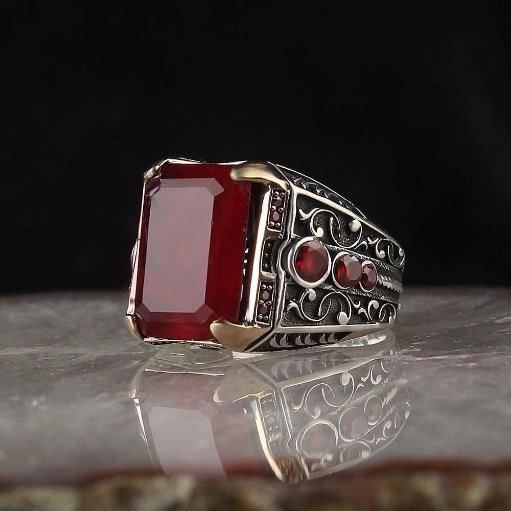 خاتم راقي من الفضة الخالصة عيار 925