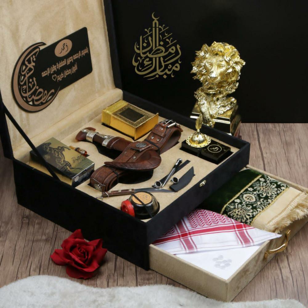 بوكس هدية رمضانية راقية بتصميم مميز