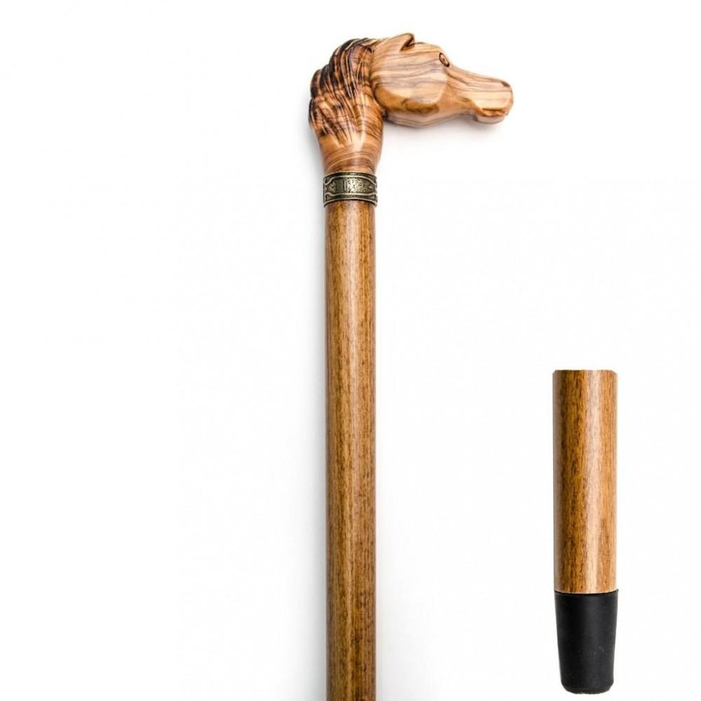 خاتم راقي بتصميم رأس حصان مميز