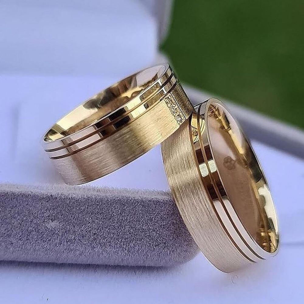 دبل راقية من الفضة الخاصة المطلية بالذهب