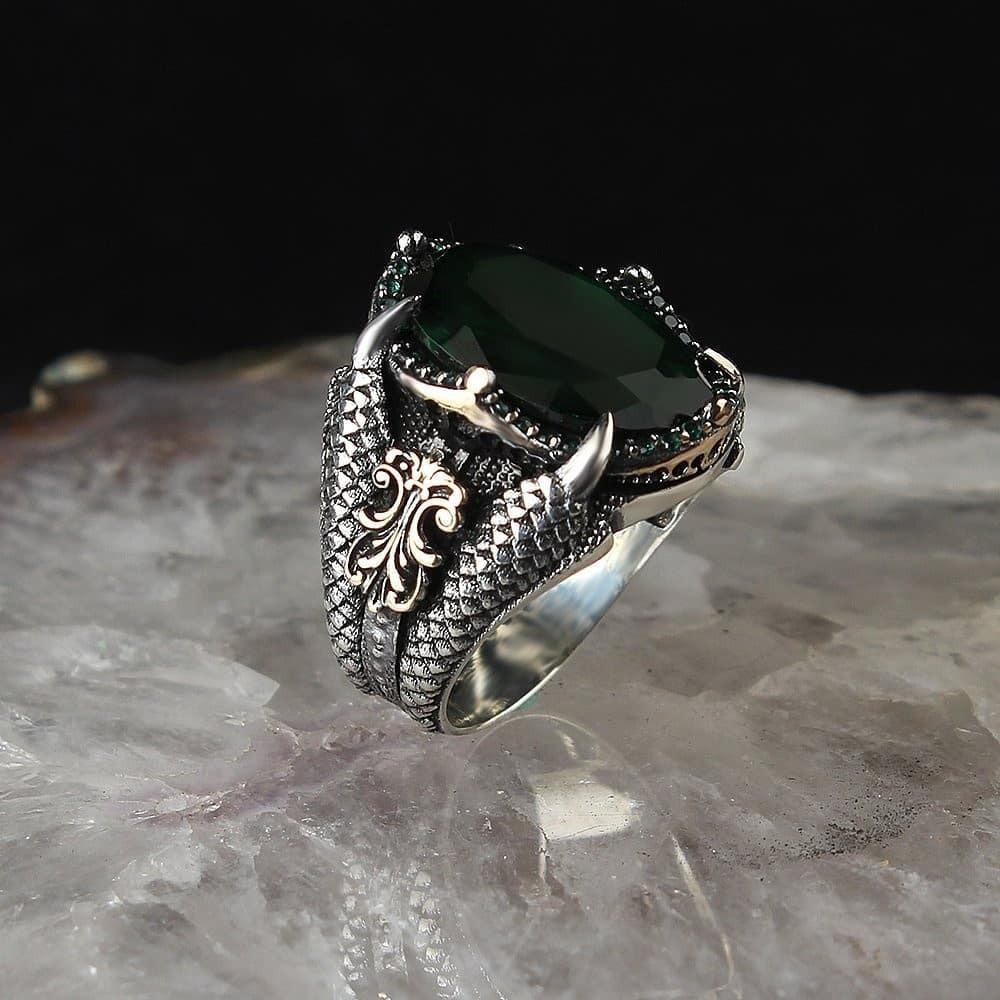 خاتم رجالي راقي من الفضة الخالصة