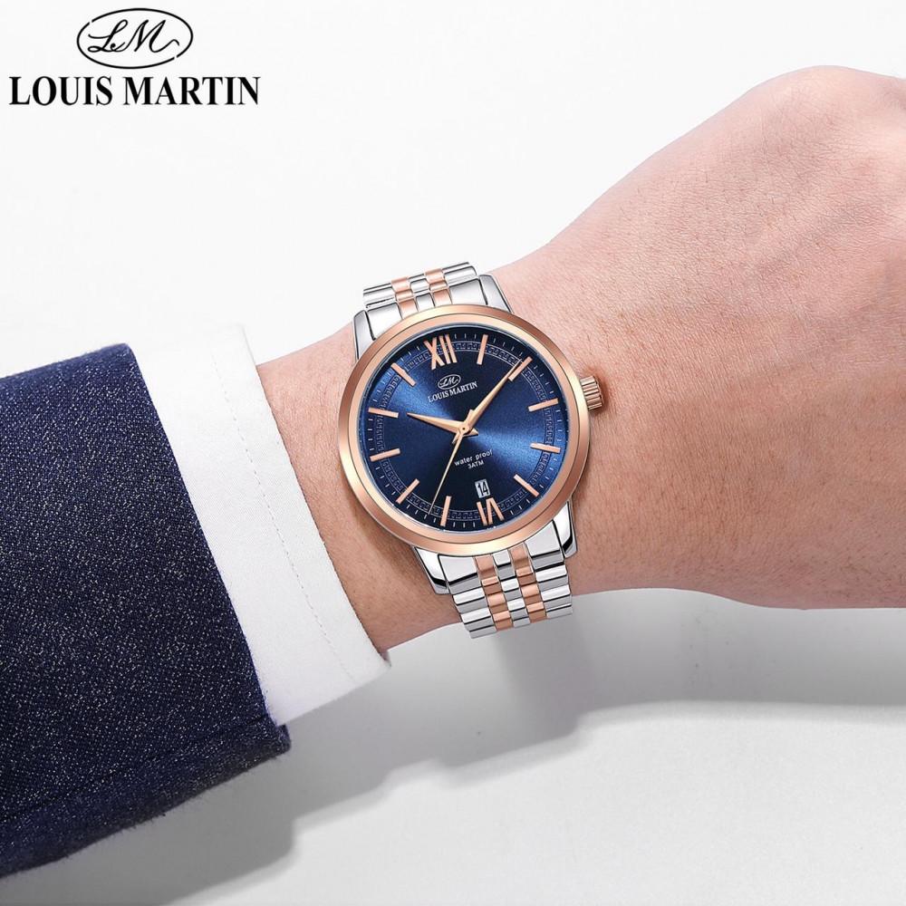 ساعات رجالية فخمة ماركة LOUIS MARTIN