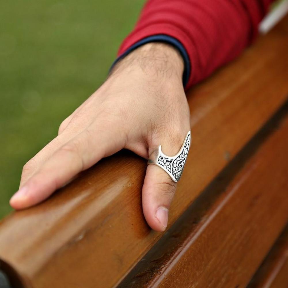خاتم فضة خالصة عيار 925
