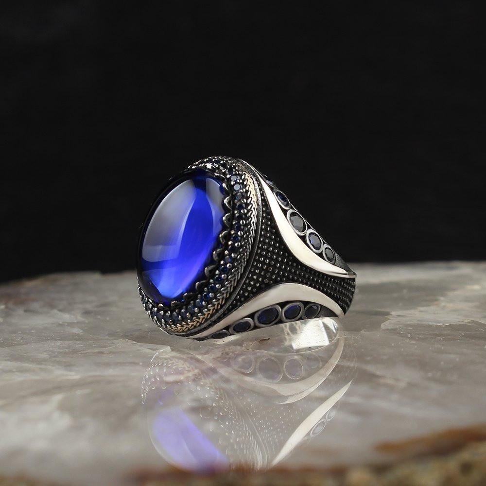 خاتم فخم من الفضة الخالصة عيار 925