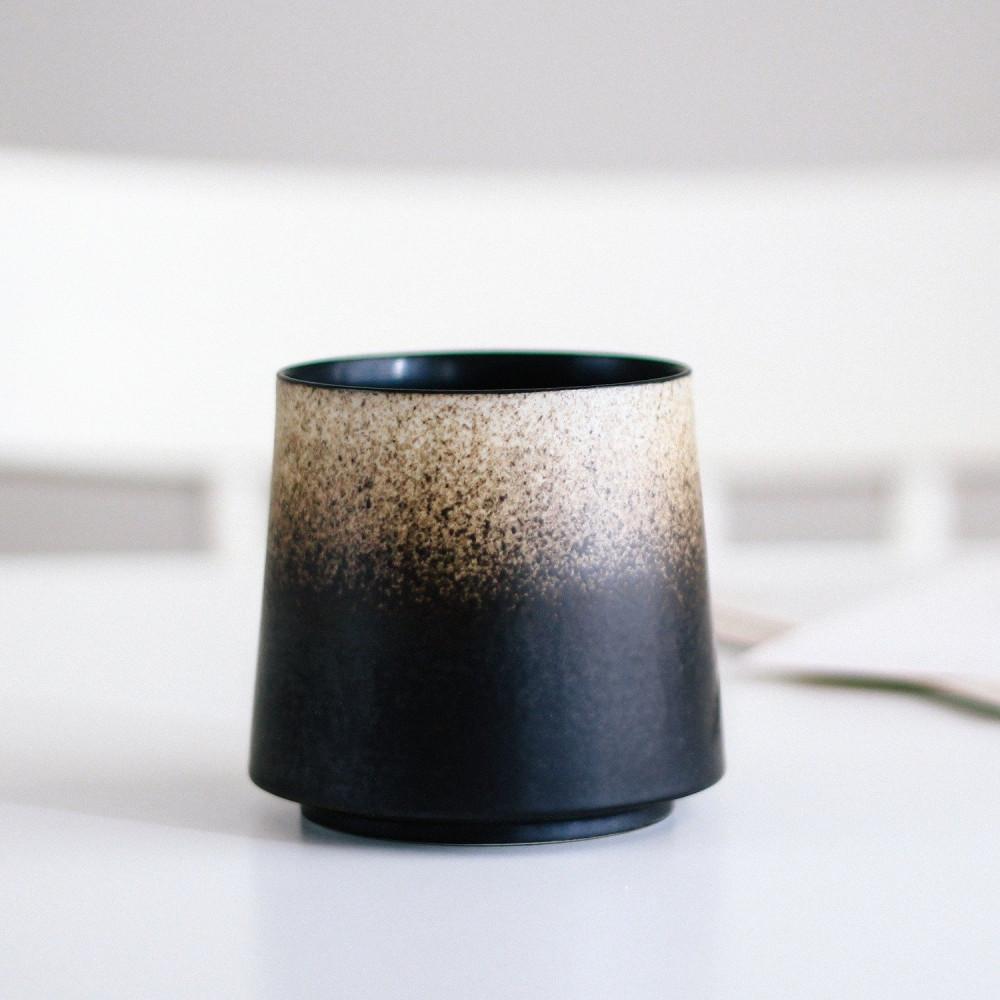 أكواب قهوة كوب أسود بيج فوجي أدوات القهوة المختصة ركن القهوة كوب متجر