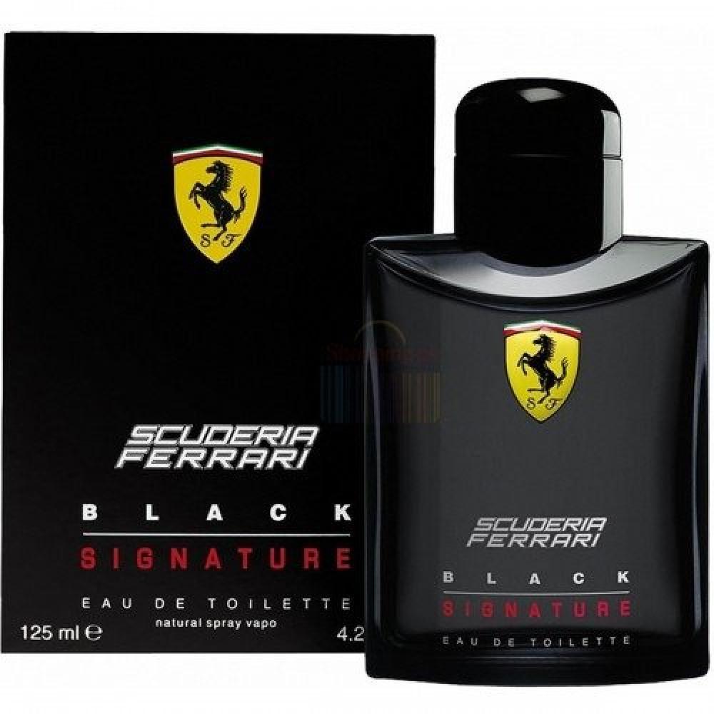 Ferrari Black Signature Eau de Toilette 125ml متجر خبير العطور