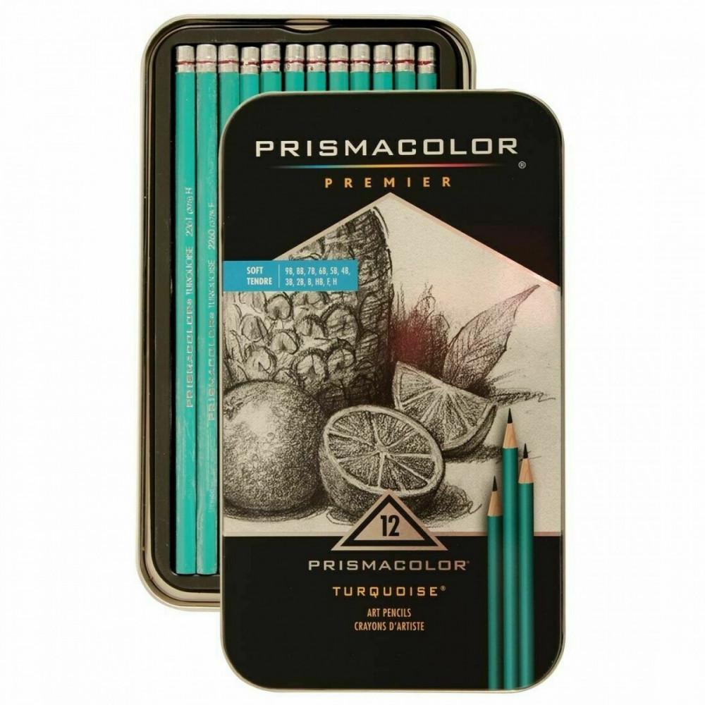 اقلام رصاص بريزما تدرج سوفت 12 قلم