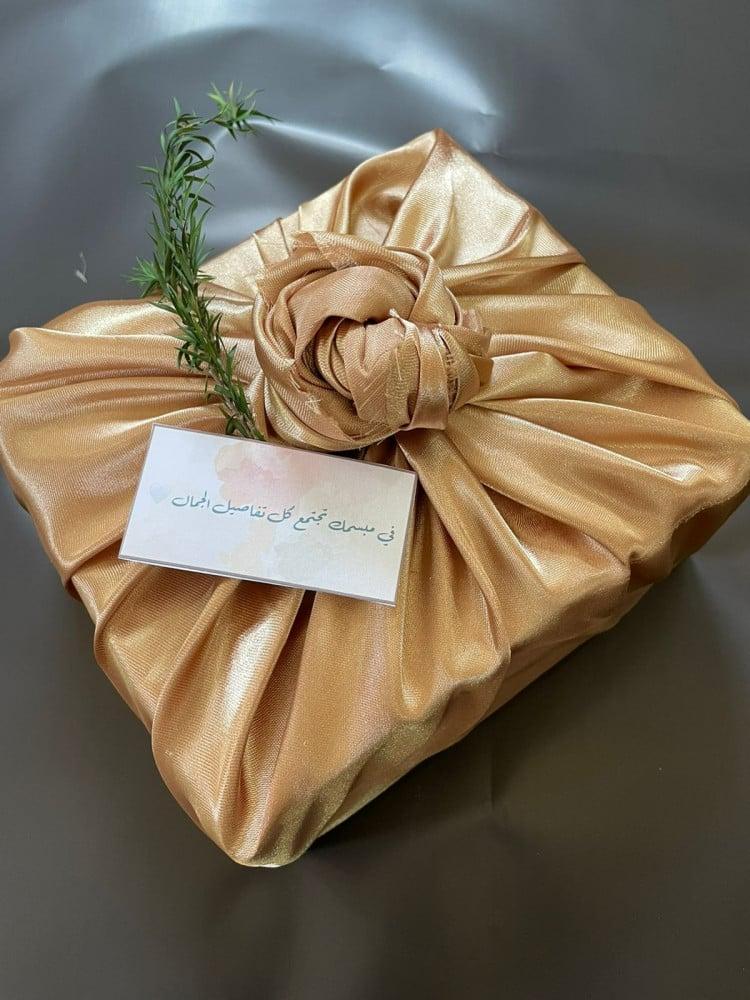 تغليف هدايا قماش
