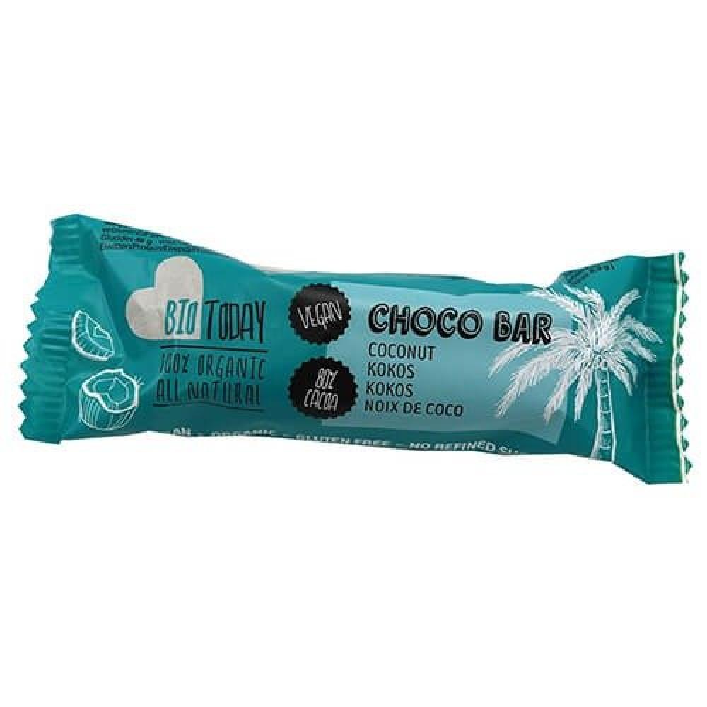 لوح جوز الهند بالشوكولاته الداكنة عضوي