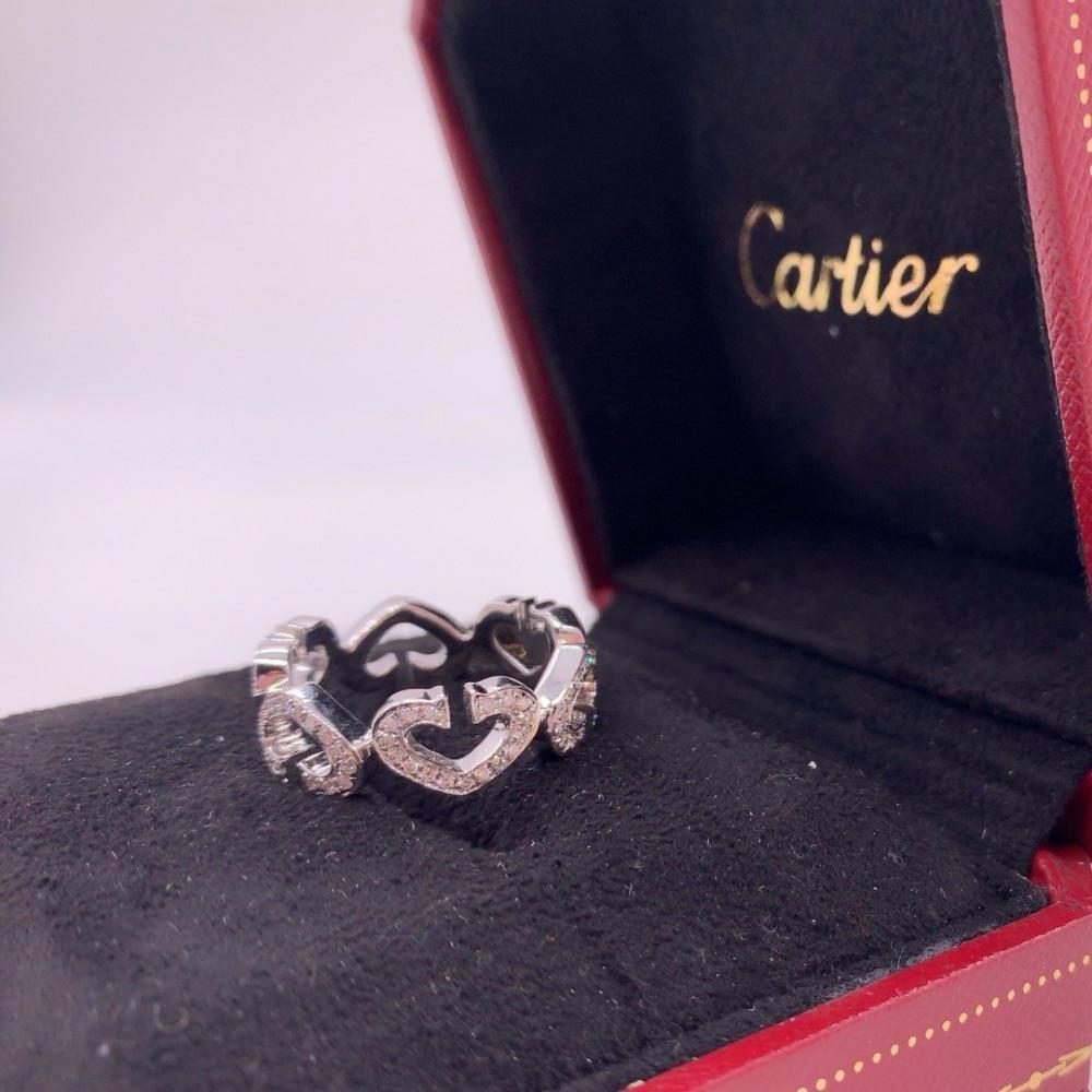 خاتم كارتييه سي هارت فل دايموند الأصلي