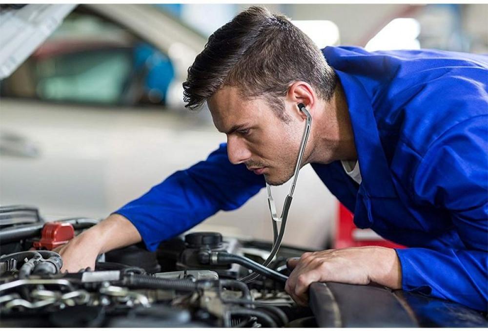 سماعة ميكانيكي لتشخيص وتحديد صوت المحركات للسيارات والشاحنات