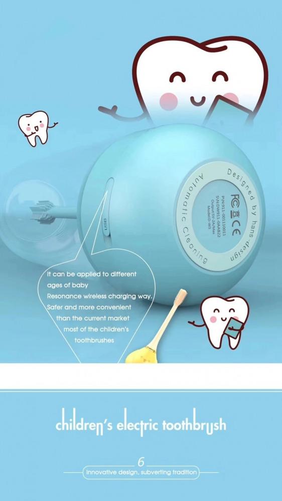 فرشاة اسنان كهربائية للاطفال