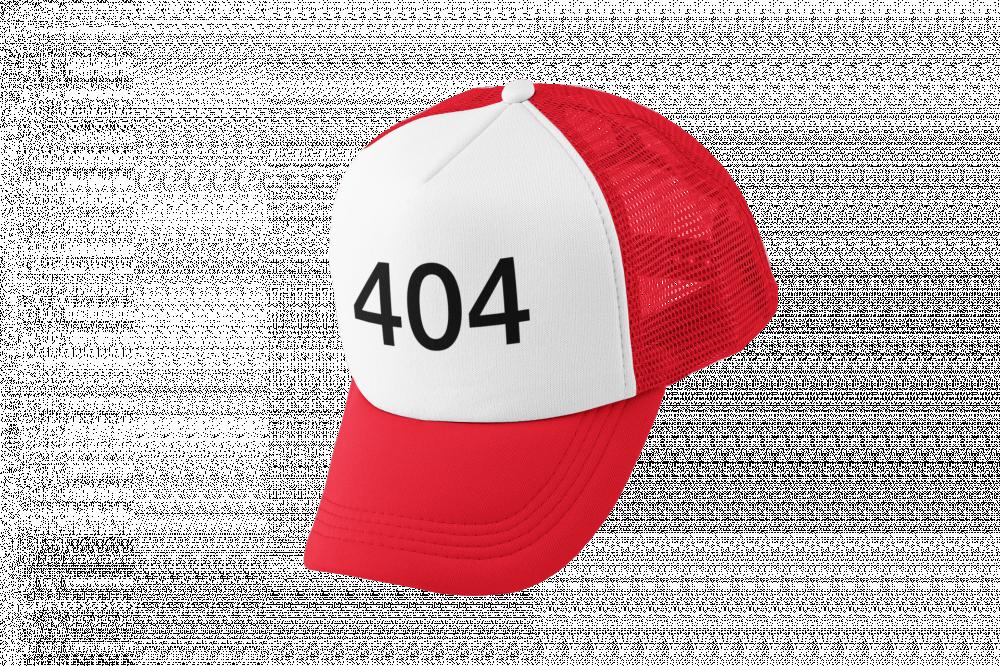 كاب طباعة برمز 404