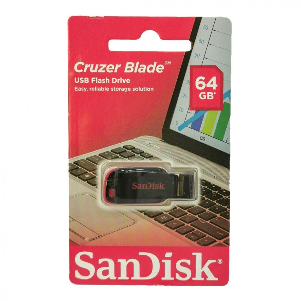فلاش ميموري سانديسك كروزر بليد 64GB