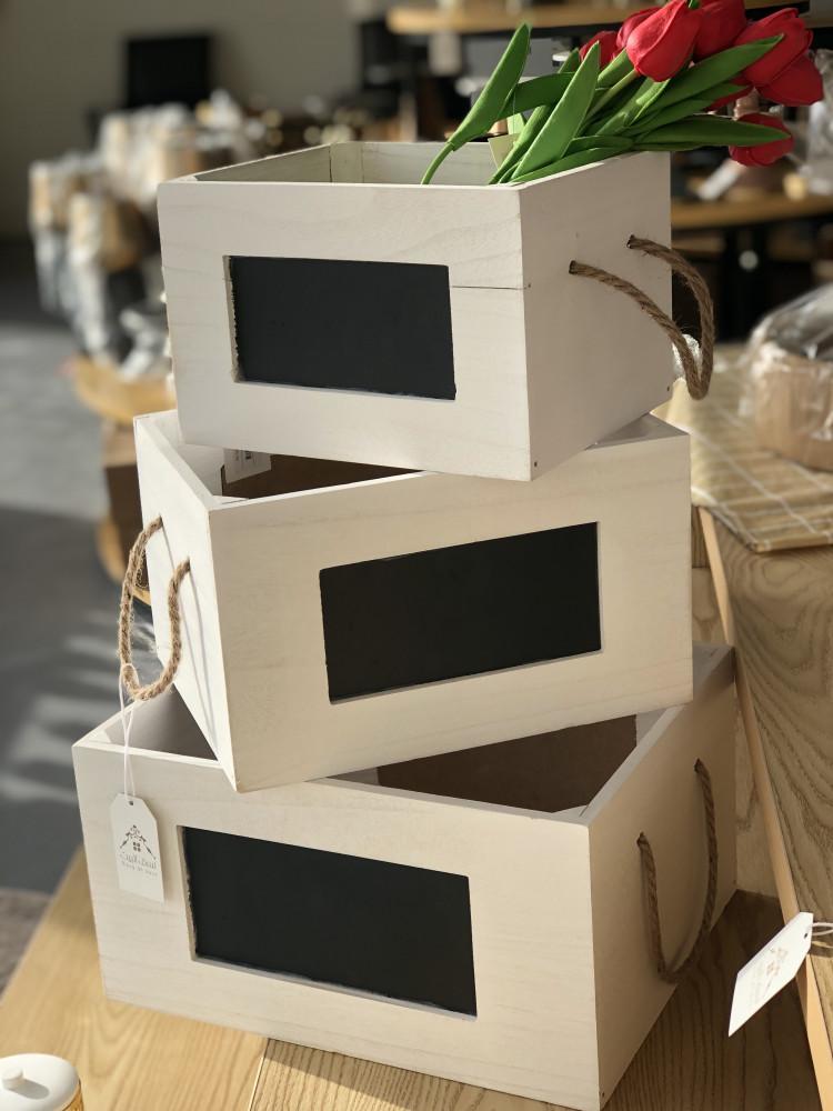 صندوق خشبي