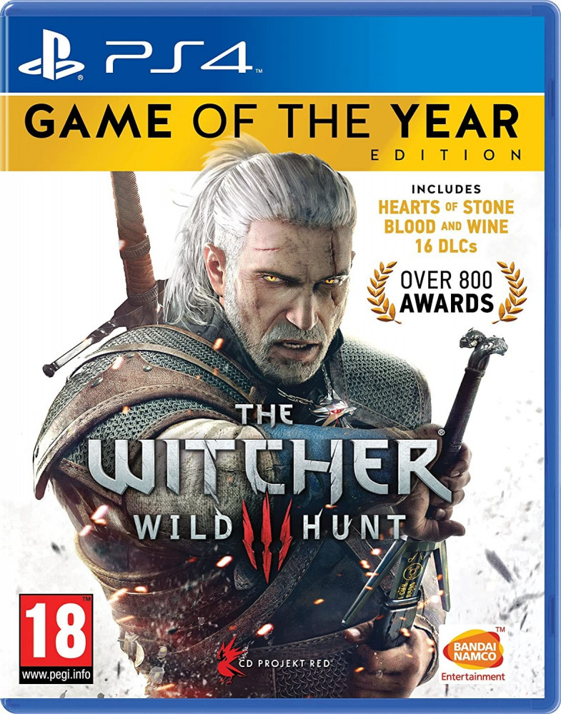 The Witcher 3 Game of the Year Edition-PS4