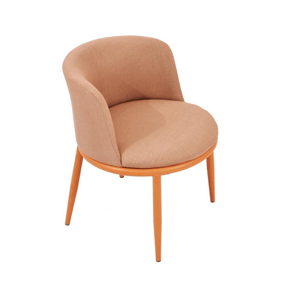 كرسي ازرق قماش C-KL-Y01BEIGE من كاما