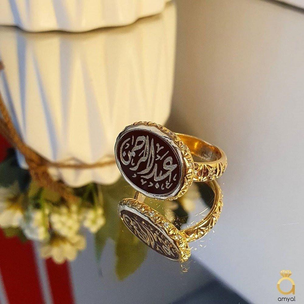 خاتم ملكي راقي من الفضة الخالصة