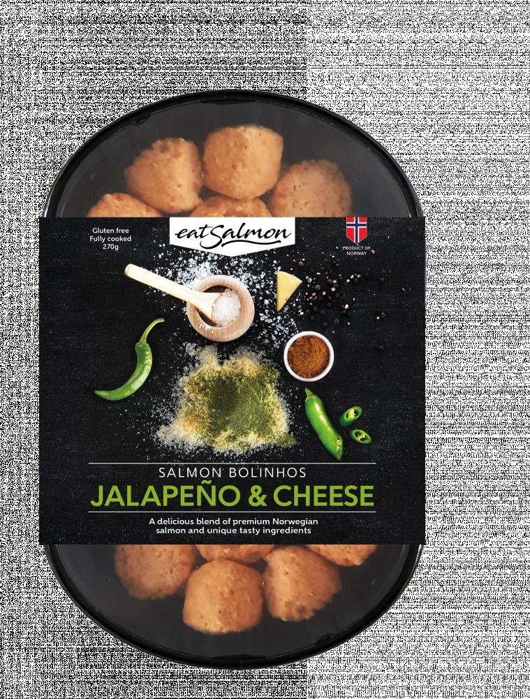 كفتة السالمون بالجبن والهالبينو cheese jalapeno salmon balls