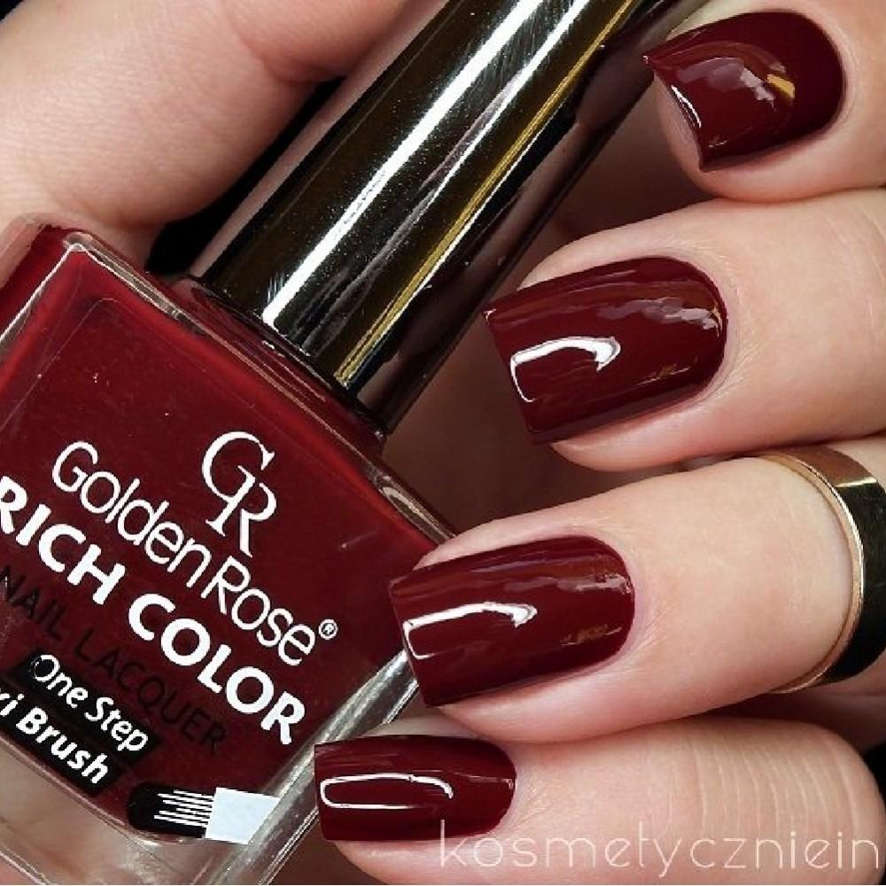 مناكير قولدن روز ريتش كلور  GOLDEN ROSE Rich Color Nail Lacquer 123