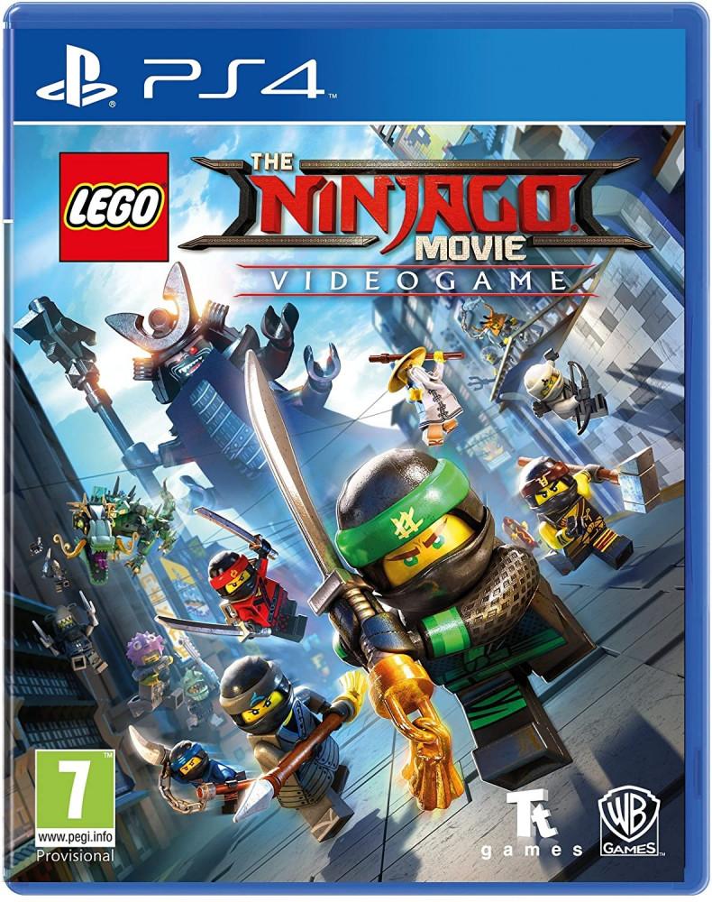 LEGO Ninjago Movie Game Videogame-PS4
