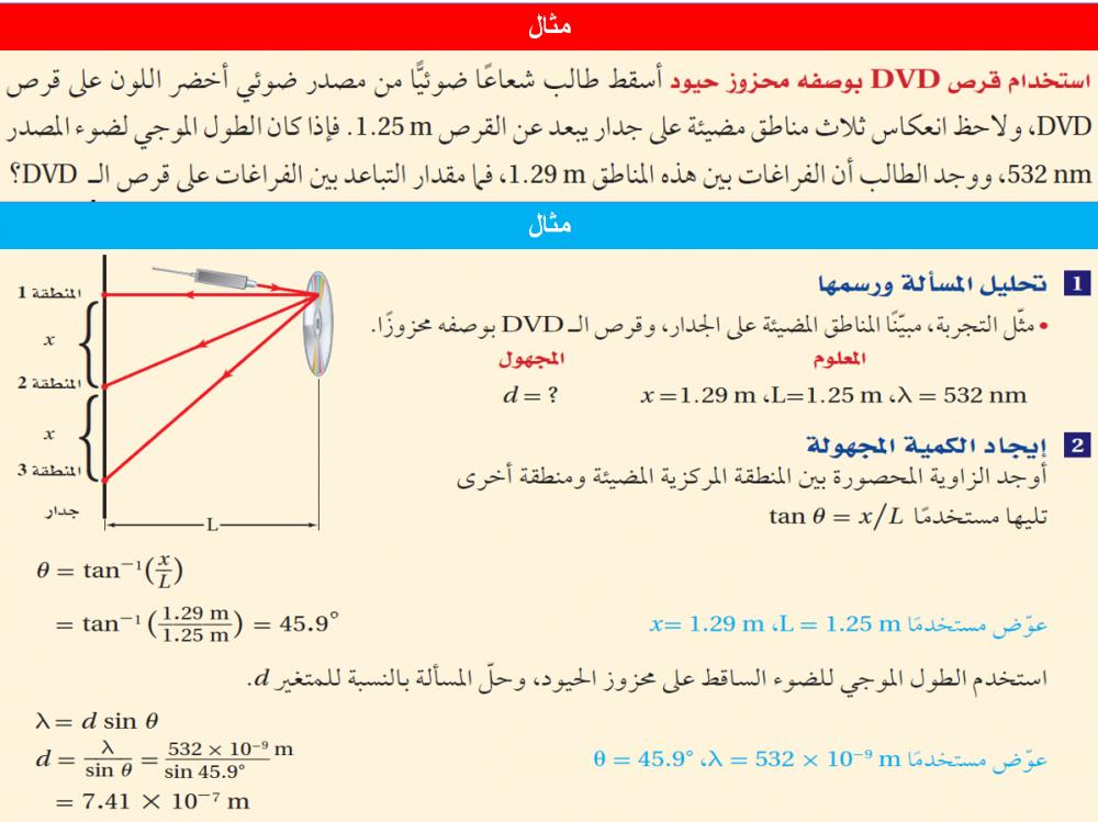 دليل المعلم فيزياء 3 مقررات