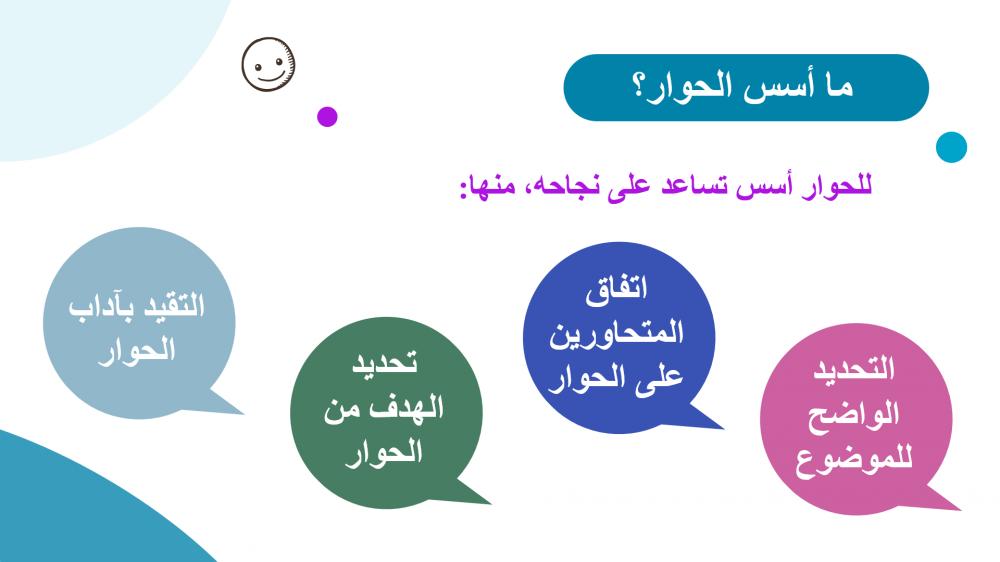 أسس الحوار