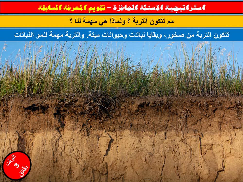 التربة