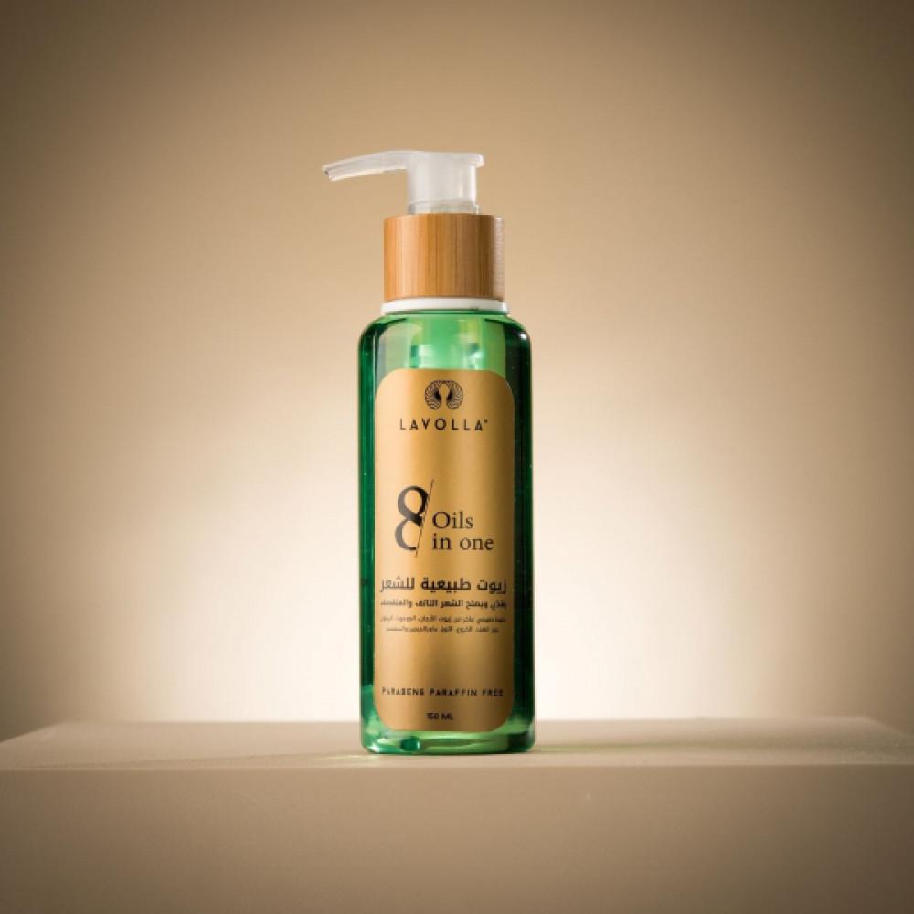 زيوت الشعر الطبيعية Hair Oils 8 in one