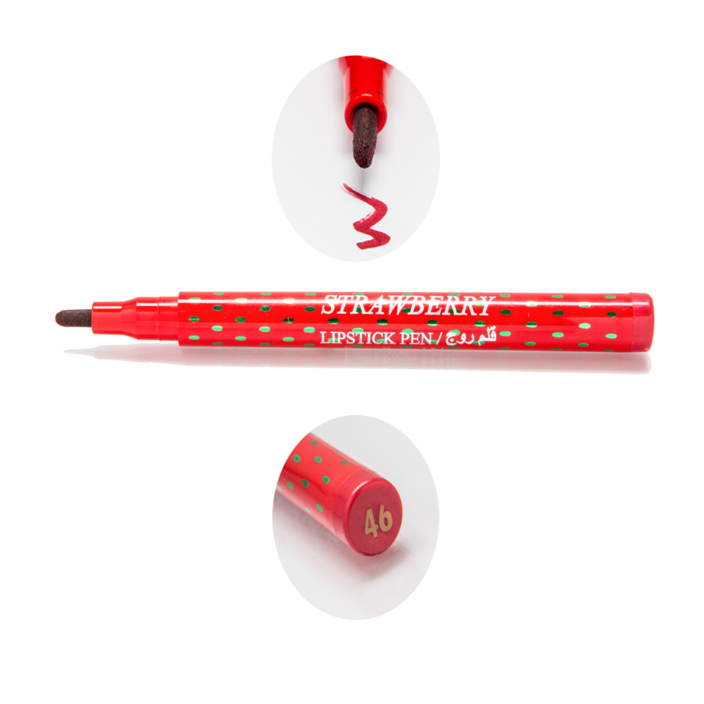 Strawberry Lipstick Pen No-46