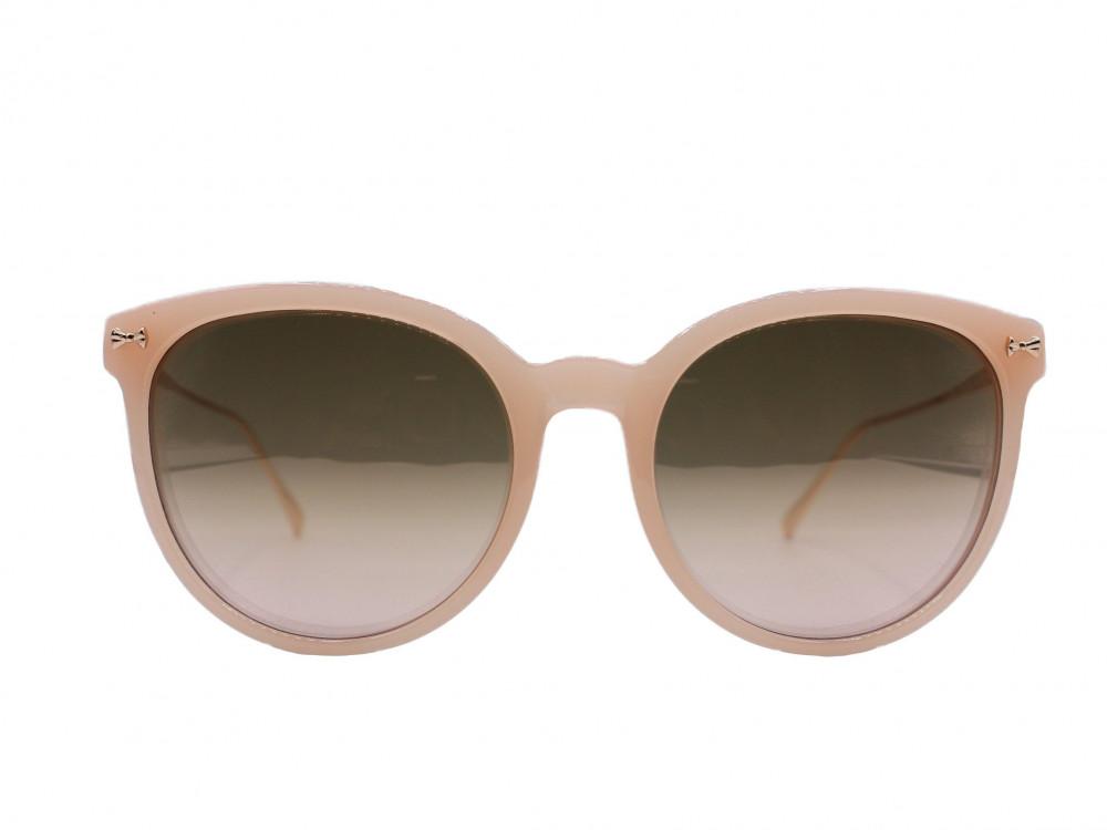 نظارة شمسية ماركة TED BAKERنسائية لون العدسة عسلي مدرج لون الإطار وردي