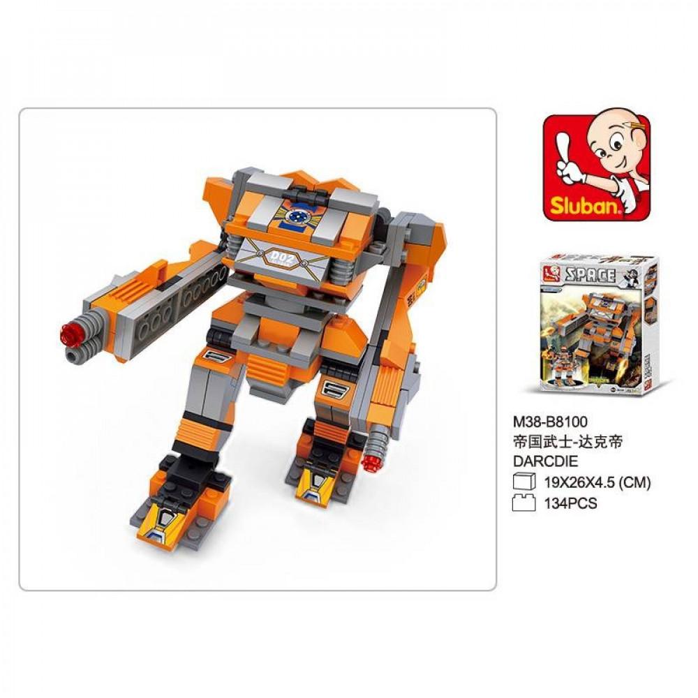 سلوبان, قطع تركيب روبوت الليل, ألعاب, Robot, Toys, Sluban