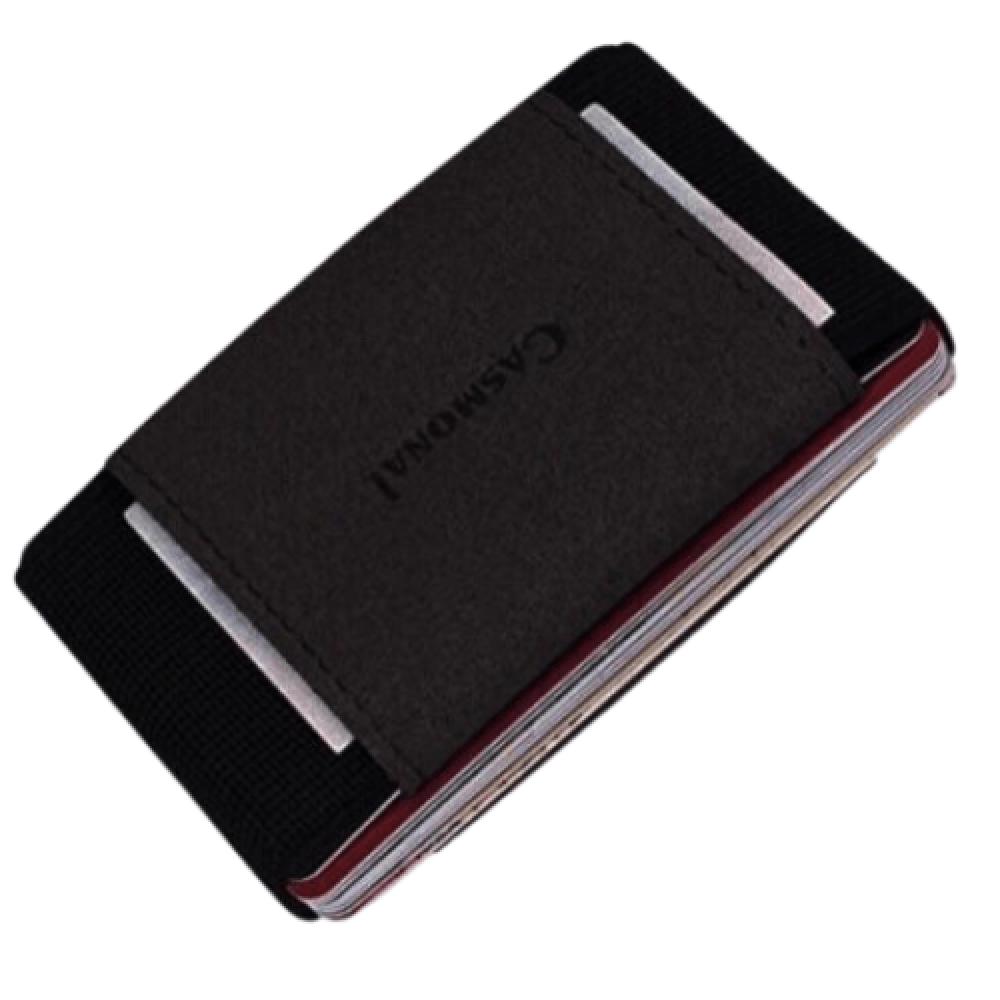 محفظة بطاقات casmonal كاسمونال الرفيعة - black - متجر أصلي