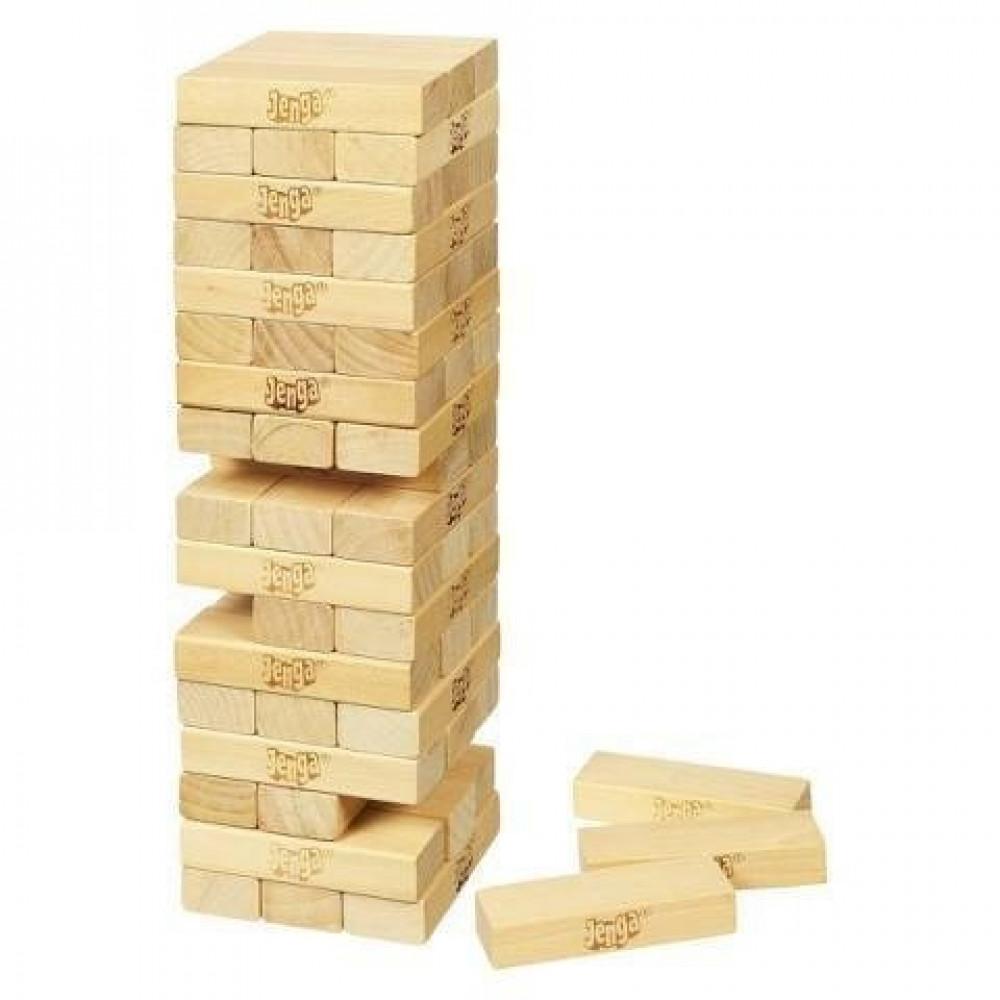 جينجا - خشب الزان لعبة جينجا جنجا بازل خشب  العاب الاطفال