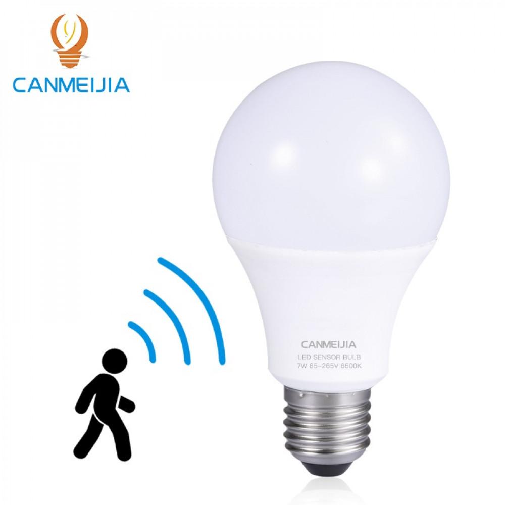 مصباح ذكي حساس حركة  LED أبيض 220-240 فولت 9 واطE27  لون K6500