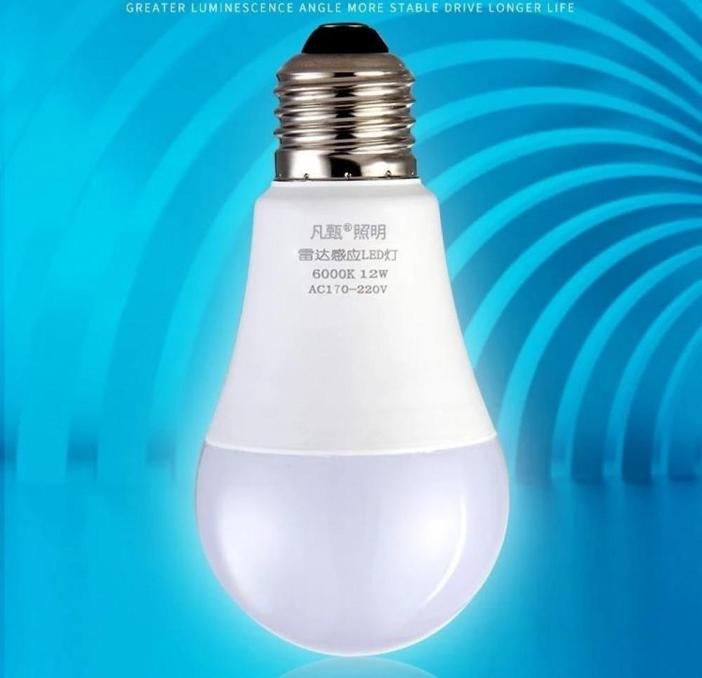 مصباح ذكي LED بمستشعر صوت السلالم الممرات الصالات أمن المنازل إنارات