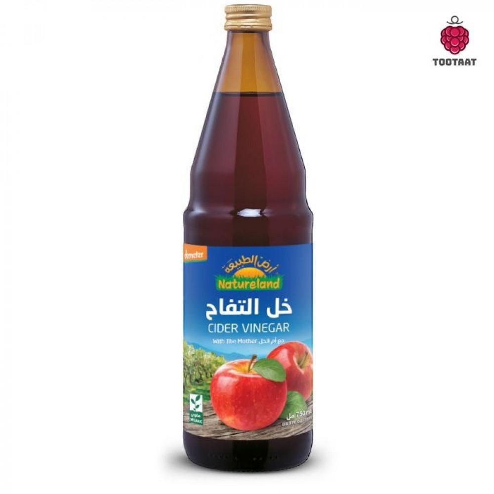 خل التفاح غير المفلتر 750 مل Unfilter Cider Vinegar 750 ml