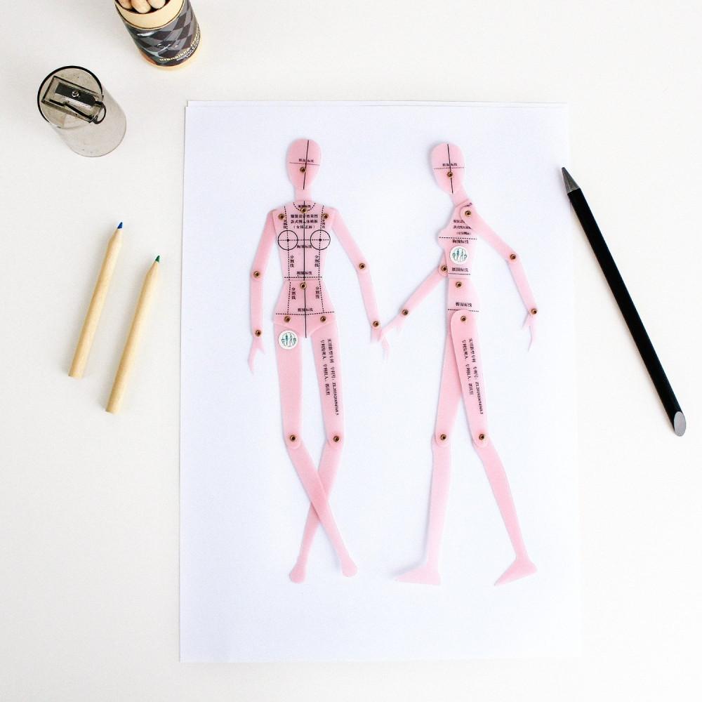 كيف يتم تصميم الأزياء كيف ارسم المانيكان طريقة رسم المانيكان اساسيات