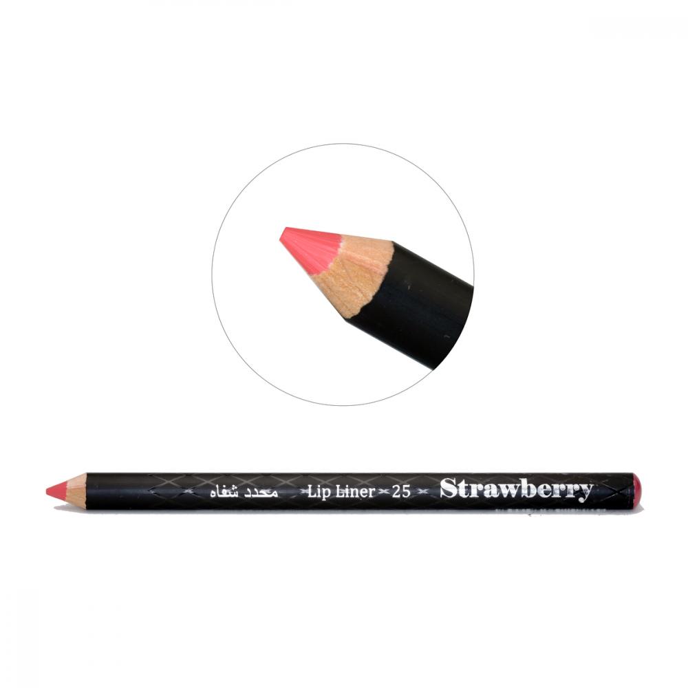 Strawberry  Lip Liner Pencil  No-25