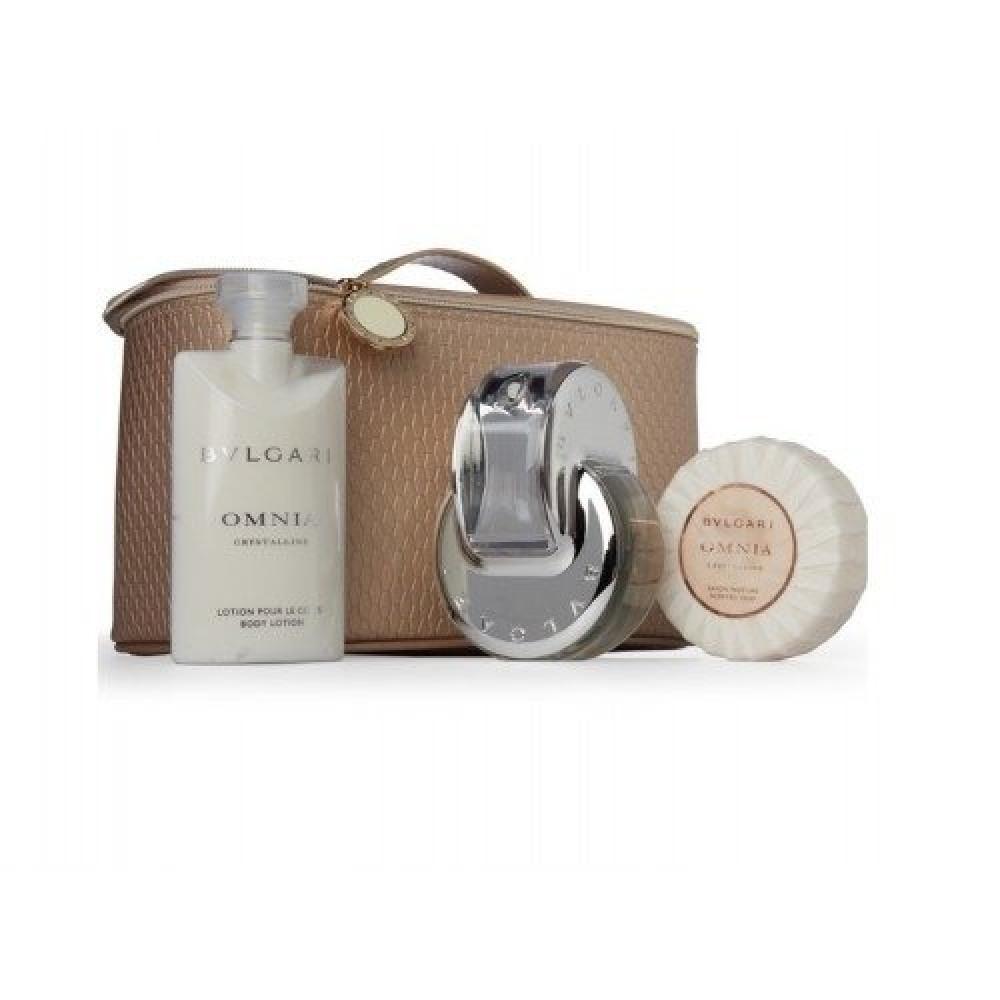 Bvlgari Omnia  Crystalline Eau de Toilette 65ml 4 Gift Set خبير العطور