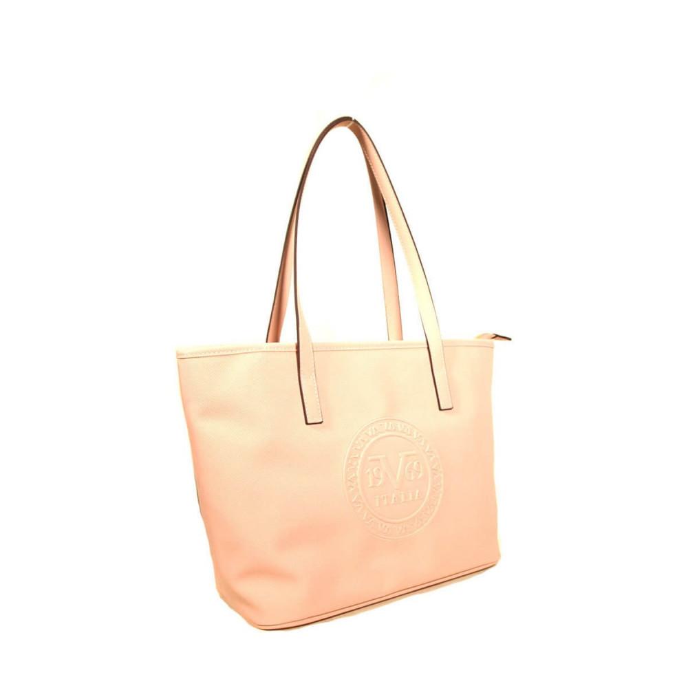 حقيبة كتف موحدة اللون نسائية
