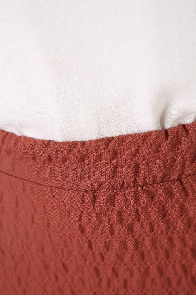 تنورة طويلة أحمر طوبي نسائية