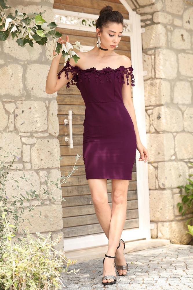 فستان جوبير بنفسجي نسائي