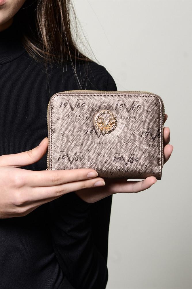 محفظة بلاتيني مزخرفة نسائية