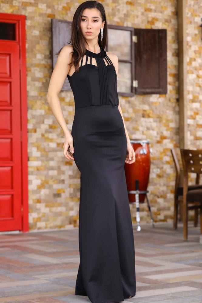فستان سهرة أسود