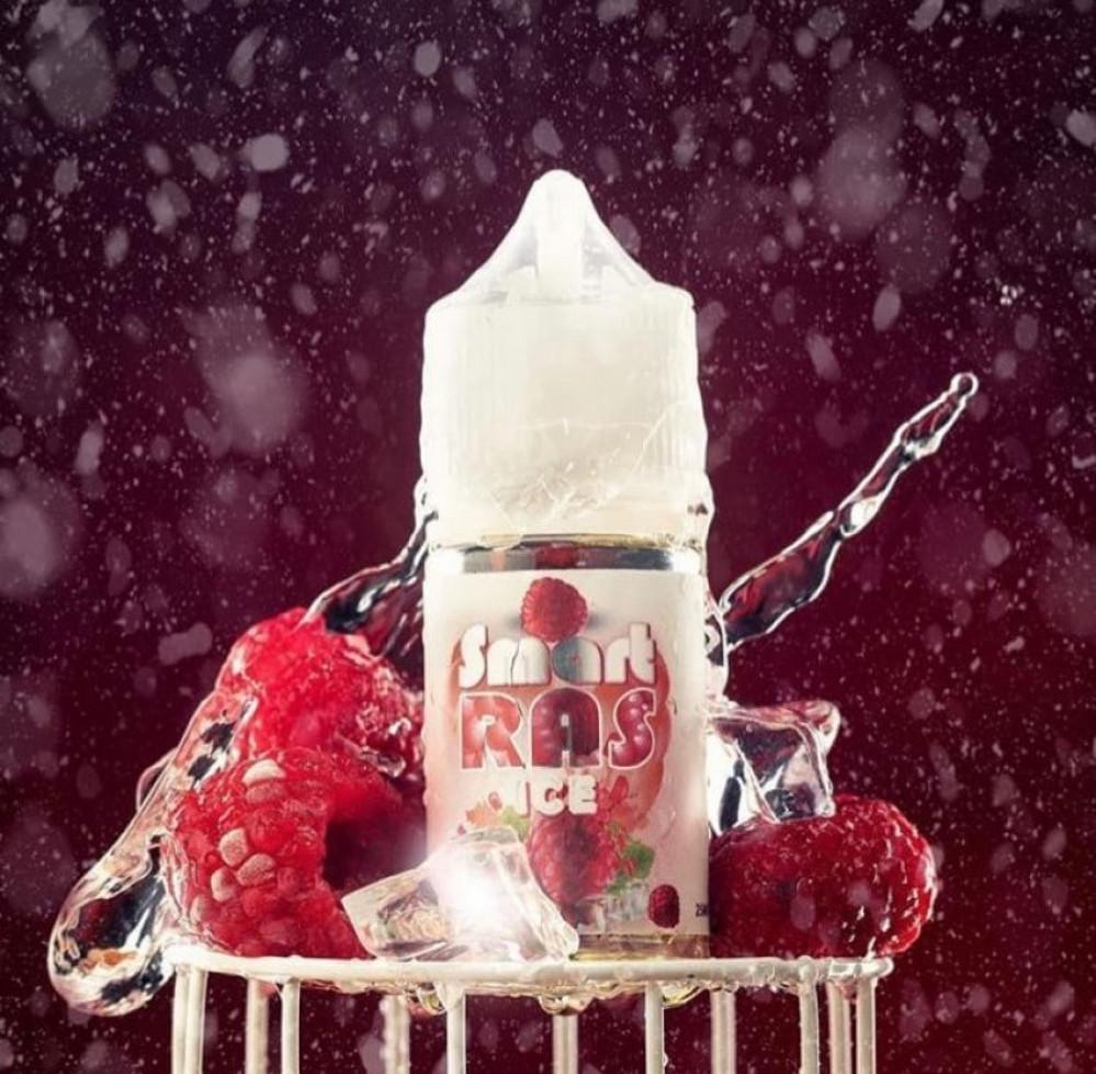 نكهة سمارت راز ايس سلاش التوت الاحمر - سولت - Smart RAS Ice Salt